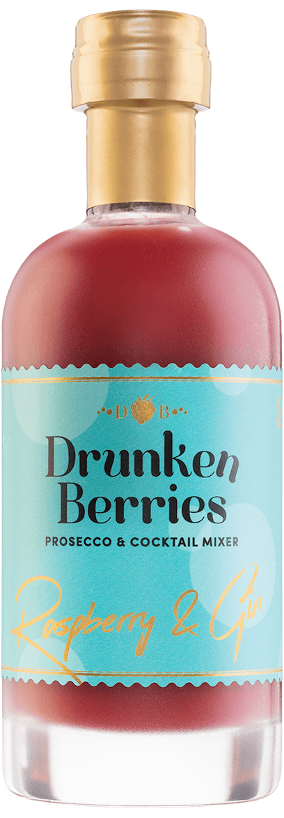 Drunken Berries Raspberry & Gin Prosecco Mixer