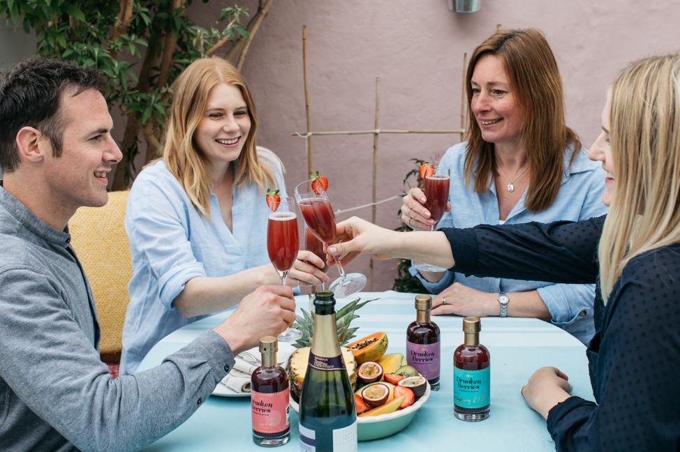 Drunken Berries Prosecco Mixer group