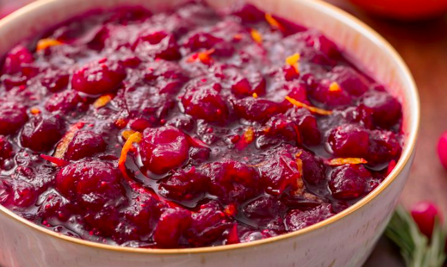 Cranberry sauce - Festive recipe ideas