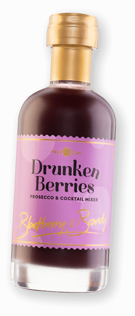 Drunken Berries Blackberry Prosecco Mixer