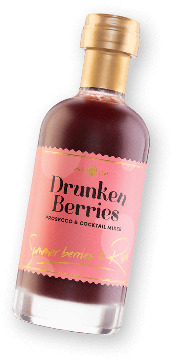 Drunken Berries Summer Berries & Rum Prosecco Mixer