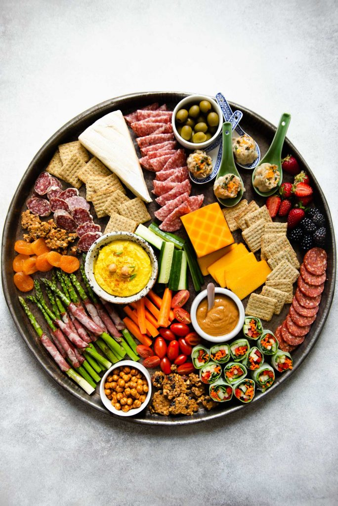 NYE grazing platter for parties - New Year's Eve at home
