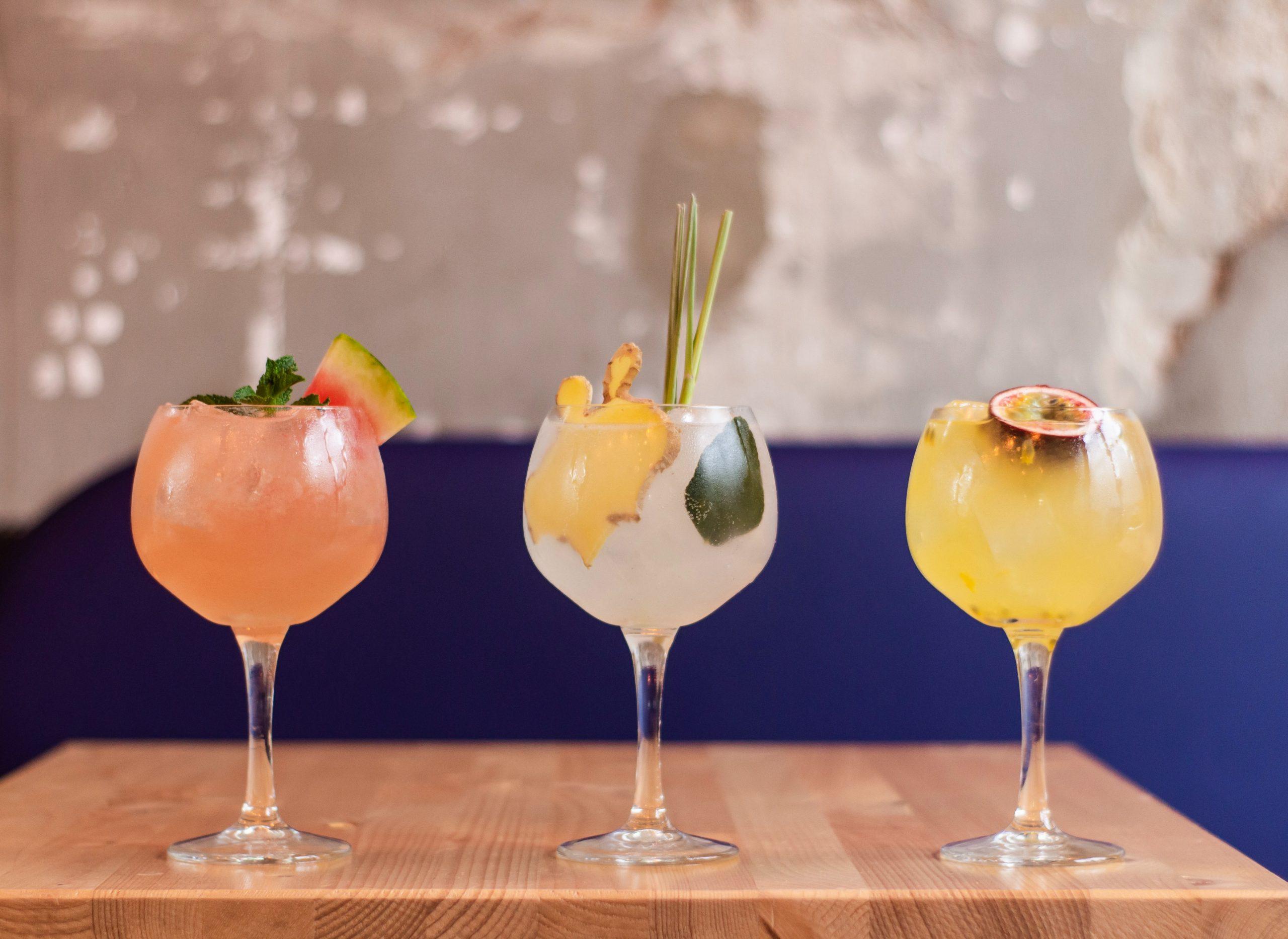Prosecco Mixers -Drunken Berries Cocktails
