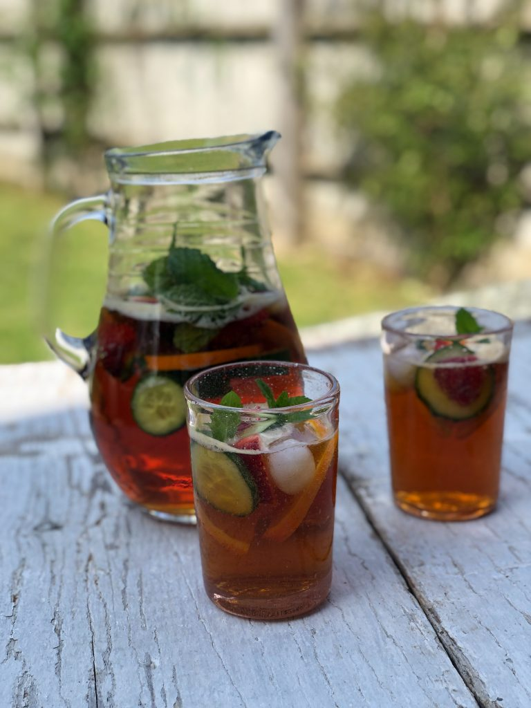 Prosecco Mixers -Drunken Berries Pimms and prosecco