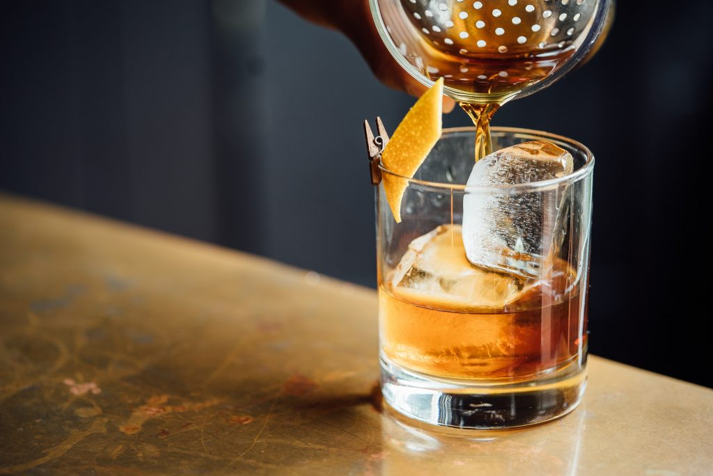 Old Fashioned Wedding Cocktail