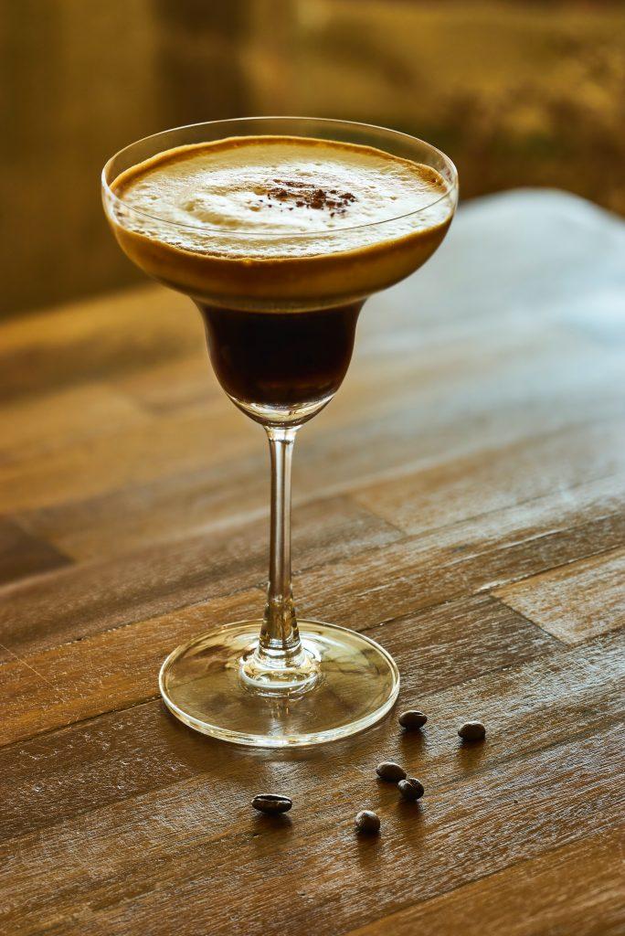 espresso martini wedding reception cocktail